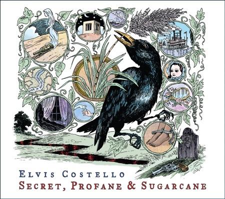 Discosalt- elvis-costello-secret-profane-sugarcane-album-art