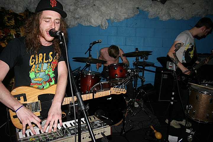 ACRYLICS, LISSY TRULLIE, BEAR HANDS, HOLY GHOST!: LIVE AT GLASSLANDS via Discosalt