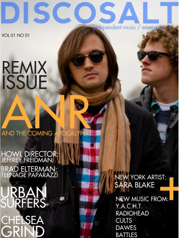 Discosalt Magazine - Issue 1 - Cover