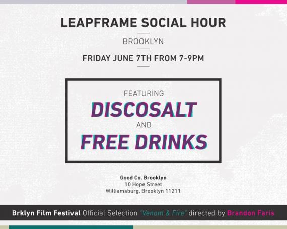 Discosalt + LeapFrame Social Hour