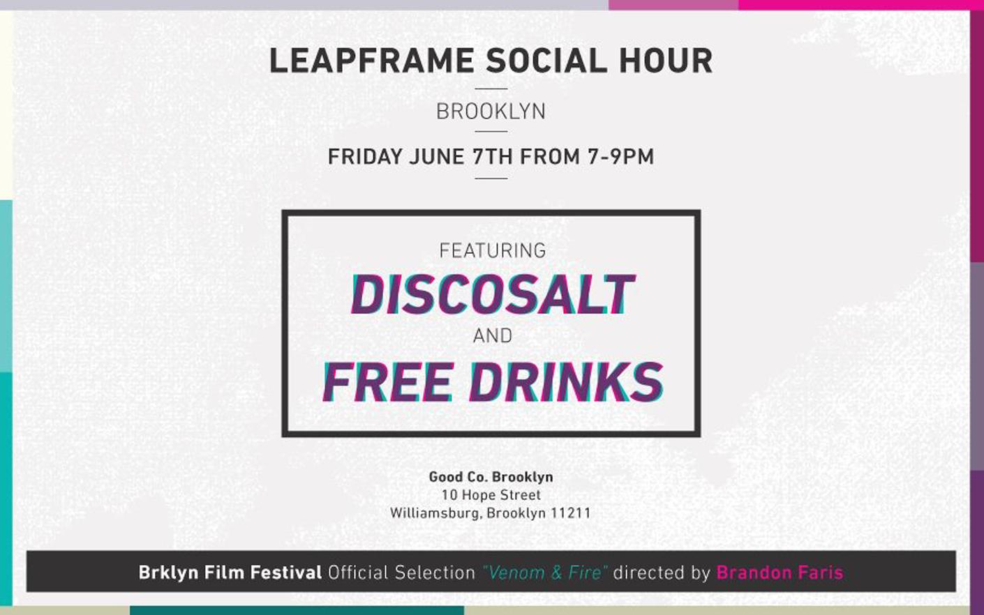 Discosalt Social Hour