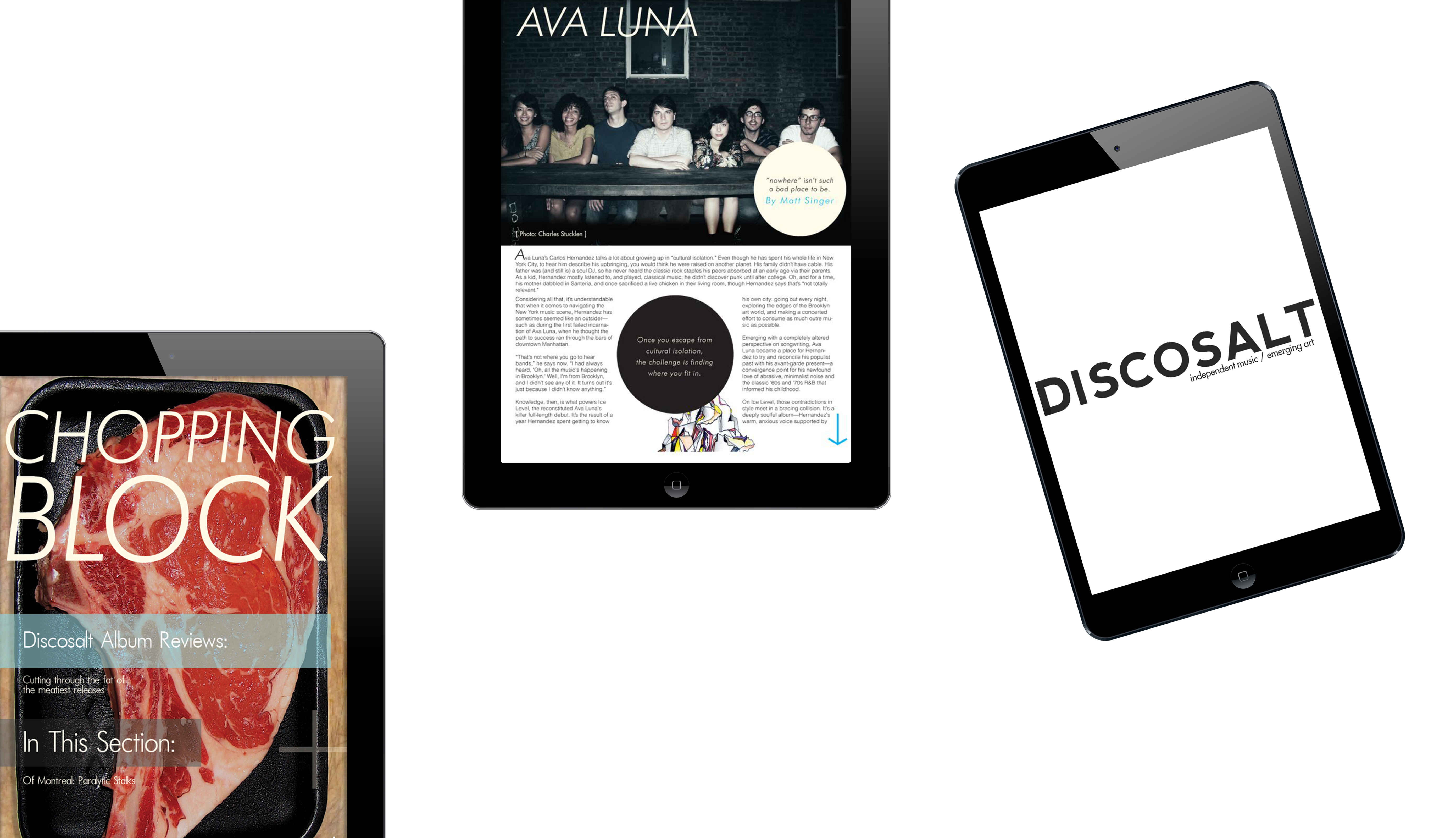 Discosalt Magazine App