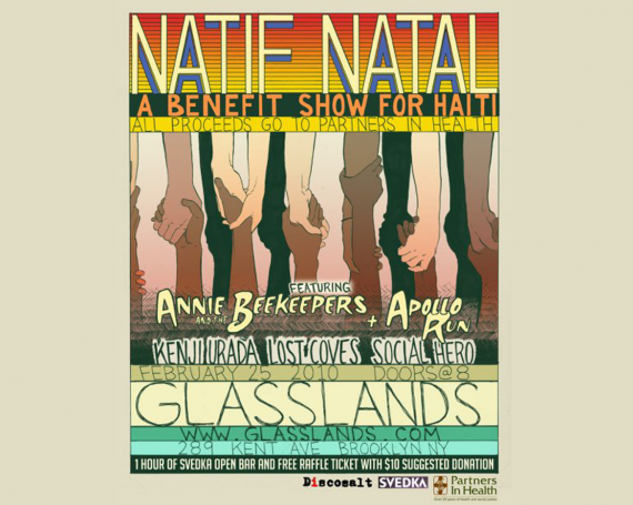 Natif Natal : A benefit show for Haiti