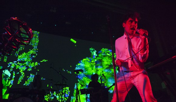 Neon Indian at Webster Hall on October 14, 2015. CMJ. Microsoft via Discosalt