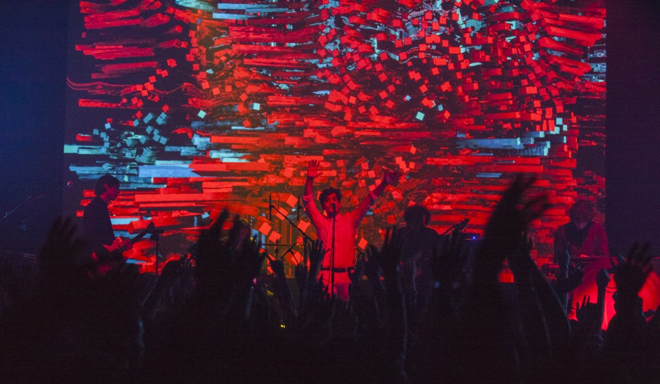 Neon Indian at Webster Hall on October 14, 2015. CMJ. Microsoft
