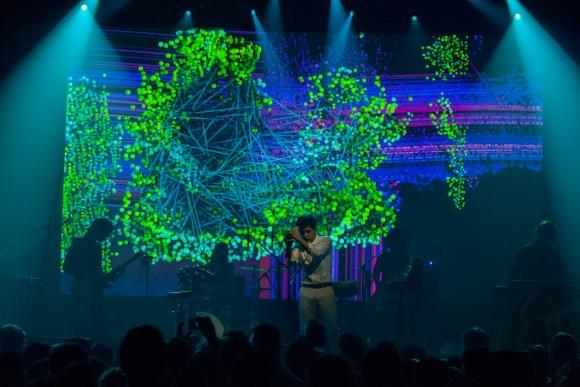 Neon Indian at Webster Hall on October 14, 2015. CMJ. Microsoft via Discosalt